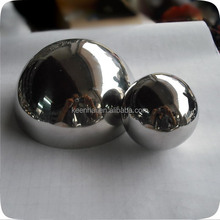 304 Mirror Hollow Stainless Steel Half Ball in Good Price