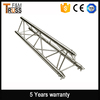 Arch roof truss for outdoor stage