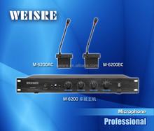 Professional Desktop Gooseneck wired microphone