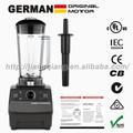 Motor alemán 2200w tecnología de alta calidad profesional licuadora comercial, procesador de alimentos, mezclador, licuadora, capacidad 2l
