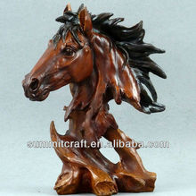 Caballo decoración animales de colección Mustang Pony estatua estatuilla modelo