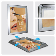 Hot sale a1 a2 a3 a4 aluminum snap photo frame photo picture frame