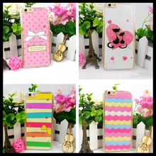 Cellphone cases colorful shell with PC suitable for iphone6