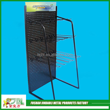 hot sale metal display stand metal pegboard stand