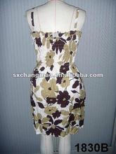 2012 fashion beach dresign shift dress