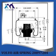 New model Air suspension For volvo truck air spring 20897204 with good quality