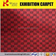 Latest promotional needle punch carpet jacquard