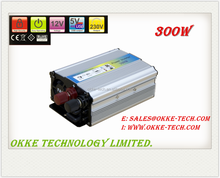 New Design Inverter, Converts DC 12V Car Power to AC110V 180W Power with High/Low Voltage Protection -OKKE POWER