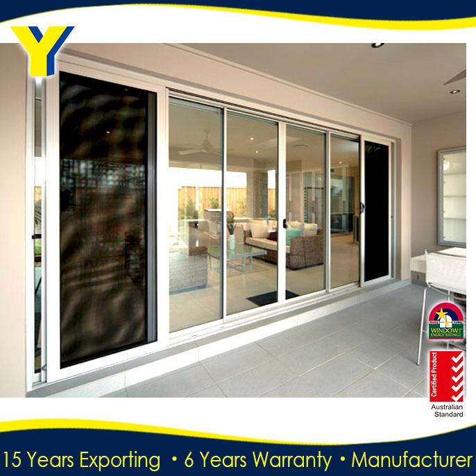 Find alu door suppliers made in china with double glazing glass for