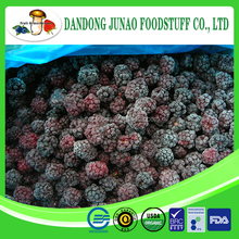 Chinese frozen balckberry A grade 70% balck color , blackberry broken