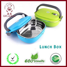 Square Shape Stainless Steel One/Two/Three-Layer Lunch Box