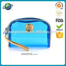 EVA manufacture zipper transparent cosmetic pvc plastic bag