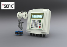 Digital wall mounted ultrasonic water flow meter types