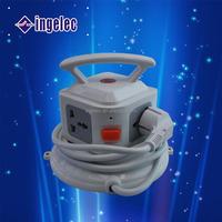 Euro type dual usb socket japan roll extension cord plug and socket