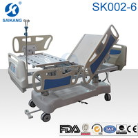 ICU bed x-ray transparent with CPR