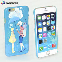 2014 hot sale new 3d sublimation blank cell phone case for ip6