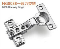 NG8088 26mm cup One Way Hinge with two hole plate for furniture accessories