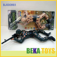 Kids Toys Electric Moving Toys Painted Plastic Corps Action Figure Soldier