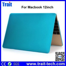 Folio Hard Shell Frosted PC Laptop Notebook Case Cover for Macbook 12 Inch