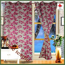 Shaoxing Keqiao New Product Flower Jacquard Window Curtain For Living Room