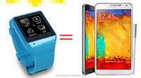 "Bluetooth SmartWatch 1.54"" Touch Screen 2MP Camera TF GSM FM Sync Handsfree S19 smart watch"