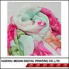 Pink comfortable lady scarf chiffon