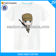50% Cotton 50% Polyester High Quality Tee Shirts In Lower Price