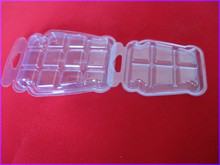 Plastic soy wax flakes packaging box