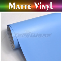 4.7mil TeckWrap 6 Colors Matte Custom Vinyl Wrap