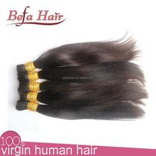new arrival high quality individual hair weave in bulk braiding hair for braiding