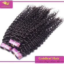 No mix any synthetic hair natural color 100% virgin brazilian short curly hair styles
