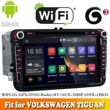 Pure android 4.4.4 system car dvd gps navigation fit for VOLKSWAGEN TOURAN 2003 - 2013 WITH CHIPSET WIFI 3G INTERNET DVR SUPPORT
