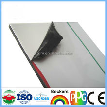 4mm PVDF exterior wall covering sheet Al composite panel