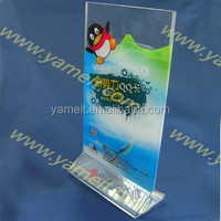 Acrylic wine rack holder display with Ice container with coaster murfatlar wine Shenzhen factory