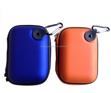 school bag shape eva hard digital camera carrying case/pouch/holder/bag with PU shells