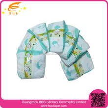 Cute printing plastic baby pants