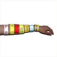 Wholeslae PVC Reflective Custom Slap Bracelets, Reflective Slap Wraps