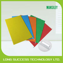 Recycled color hanging file/grand color card