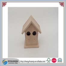 Houses Cage, Carrier & House Type and Eco-Friendly Feature Wooden Decorated Bird House