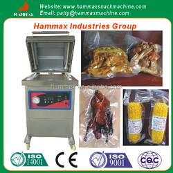 The stainless steel material fruit and vegetable vacuum packing machine