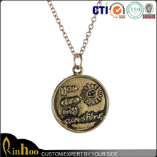 2015 Fashion New product Promotion Sun Shape Pendant/ high quality alloy material