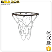 soild steel chain basketball nets