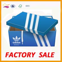 High quailty CMYK Printing Shoes packaging box manufacturer