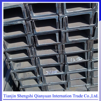ASTM ss400 structural hot rolled u-shaped steel