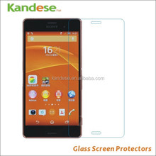 Real No Fingerprints Tempered glass screen protector for Sony Z3 ultra thin glass film