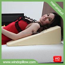 Wedge mattress pillow