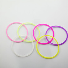 Alibaba china unique thick silicone hair bands