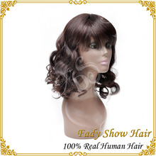 Hair vendor grade AAAAA density 130% unprocessed wholesale hair wig 100% brazilian human hair full lace wigs