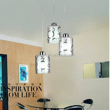 Modern family room hanging cheap steel decorative led pendant lights