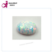 oval shape white Opal cabochons stone wholesale price in alibaba express